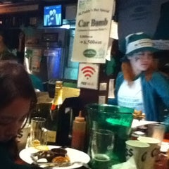 Photo taken at The Wolfhound IRISH PUB by Hanna P. on 3/18/2012