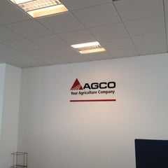 Photo taken at AGCO Hungary HQ by István V. on 2/14/2012