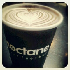 Photo taken at Octane Coffee by Ford F. on 7/15/2012