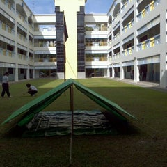 Photo taken at Cedar Girls' Secondary School by Tak Wai C. on 11/26/2011