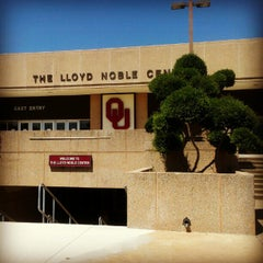 Photo taken at Lloyd Noble Center by Megan D. on 7/25/2012