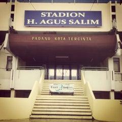 Photo taken at GOR H. Agus Salim by Arief R. on 10/18/2011