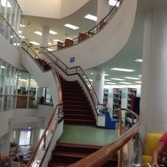 Photo taken at สำนักหอสมุด (Library) by Sirirat P. on 1/16/2012