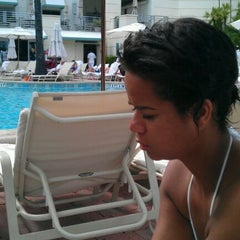 Photo taken at Loews Miami Beach Pool by Anders H. on 10/13/2011