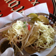 Photo taken at Guedo's Taco Shop by Wendy K. on 5/12/2012