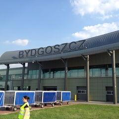 Photo taken at Bydgoszcz Ignacy Jan Paderewski Airport (BZG) by Dima T. on 4/30/2012