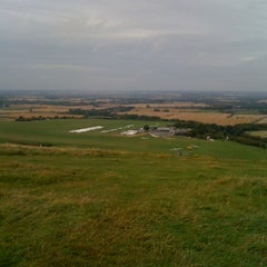 Photo taken at Dunstable Downs by Jamie F. on 8/27/2012