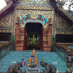 Photo taken at วัดชัยมงคล (Wat Chai Mongkol) by Nuch D. on 11/17/2011