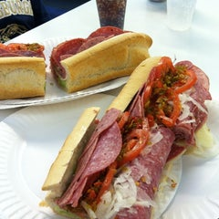 Photo taken at White House Sub Shop by Craig P. on 6/12/2012