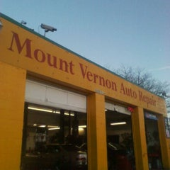 Photo taken at Mt.Vernon Auto Repairs by Joseph D. on 1/12/2012