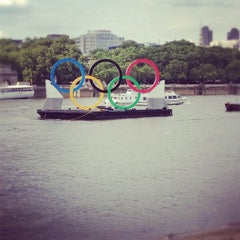 Photo taken at South Bank by Renette Y. on 7/28/2012
