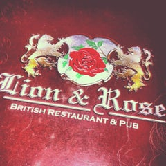 Photo taken at The Lion & Rose British Restaurant & Pub by lord diego! on 4/7/2012
