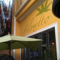 Photo taken at The Palmetto Restaurant by Christine C. on 9/14/2011