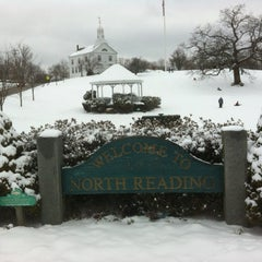 Photo taken at North Reading Town Common by Jamie B. on 3/2/2012