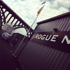 Photo taken at Rogue Brewers on the Bay by Andrew D. on 11/25/2011