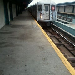 Photo taken at MTA Subway - Saratoga Ave (3) by Gary L. on 5/5/2012