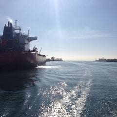 Photo taken at Port Of Long Beach by Ryan L. on 1/31/2012