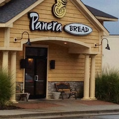 Photo taken at Panera Bread by T.J. B. on 1/21/2012