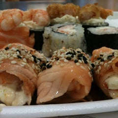 Photo taken at Irachai Sushi House by Mari P. on 5/7/2012