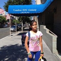 Photo taken at Comfort Inn Gaslamp by Christiana S. on 7/19/2012