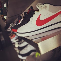 Photo taken at Burn Rubber Sneaker Boutique by Himmad K. on 3/11/2012