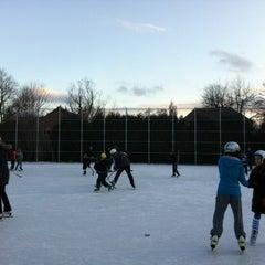 Photo taken at Lambton Kingsway Ice Rink by Deb H. on 1/2/2012