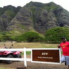 Photo taken at ATV at Kualoa Ranch by Babar R. on 8/20/2012