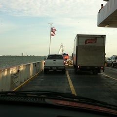 Photo taken at Galveston - Bolivar Ferry by Sherry on 8/2/2011