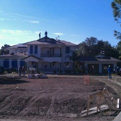 Photo taken at Extreme Makeover Home Edition Space Coast by Terry W. on 1/13/2011