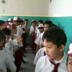 Photo taken at SDBI Al Hikmah by Alex M. on 8/28/2012
