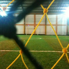 Photo taken at Goedang Futsal by Arief P. on 3/5/2012