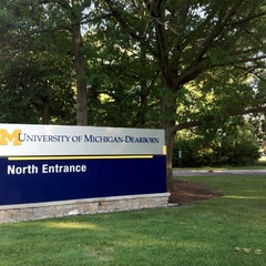 Photo taken at University of Michigan Dearborn by Walter on 7/12/2012