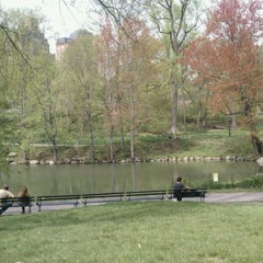 Photo taken at Central Park - The Pool by Darius S. on 4/27/2011