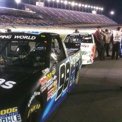 Photo taken at Kentucky Speedway by Greg M. on 10/1/2011
