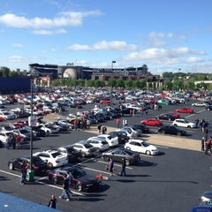 Photo taken at Turner Field - Blue Lot by Michael G. on 4/22/2012
