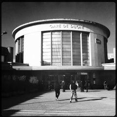 Photo taken at Gare SNCF de Dijon Ville by Vincent L. on 2/10/2012