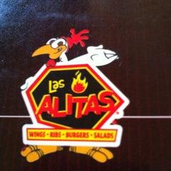 Photo taken at Las Alitas by Karlos M. on 6/26/2011