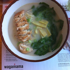 Photo taken at Wagamama by Liz T. on 9/13/2012