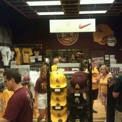 Photo taken at Sparky's Stadium Shop by Ryan E. on 10/2/2011