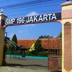 Photo taken at SMP Negeri 196 by JOEWANA on 2/22/2011