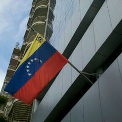 Photo taken at Embajada De Venezuela by Andrea on 5/11/2012