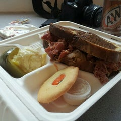 Photo taken at Market House Corned Beef by Beau R. on 10/19/2011