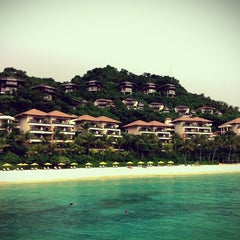 Photo taken at Shangri-La Boracay Resort and Spa by Quoc on 12/8/2011