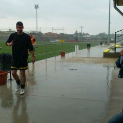 Photo taken at Camp De Futbol De St. Pere Pescador by Jaume S. on 6/3/2012