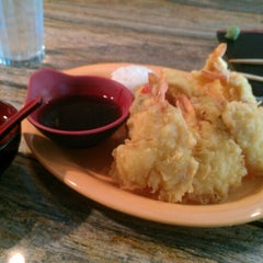Photo taken at flying fish sushi by Monica H. on 7/22/2012
