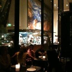 Photo taken at Glass Brasserie by Denea G. on 3/18/2011