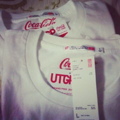 Photo taken at UNIQLO by Lim Y. on 6/20/2012