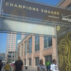 Photo taken at Champions Square by Shannon B. on 10/23/2011