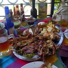 Photo taken at Mariscos Tino's by Jaime H. on 8/23/2012