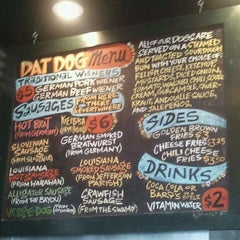 Photo taken at Dat Dog by Andy K. on 9/17/2011